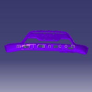 پوسته سپر جلو قسمت پایینی ام وی ام MVM X22